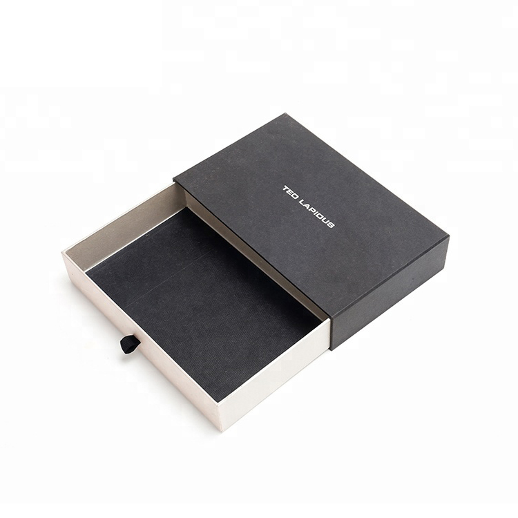 High Quality Sliding Drawer Cardboard Paper Packaging Gift Box Paper Drawer Box For Fragrance