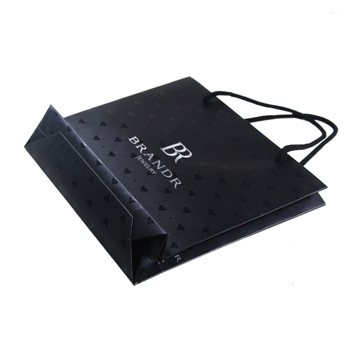 Custom Design High Quality Gift Paper Bags Jewelry Paper Bag Shopping Paper Bag With Handle