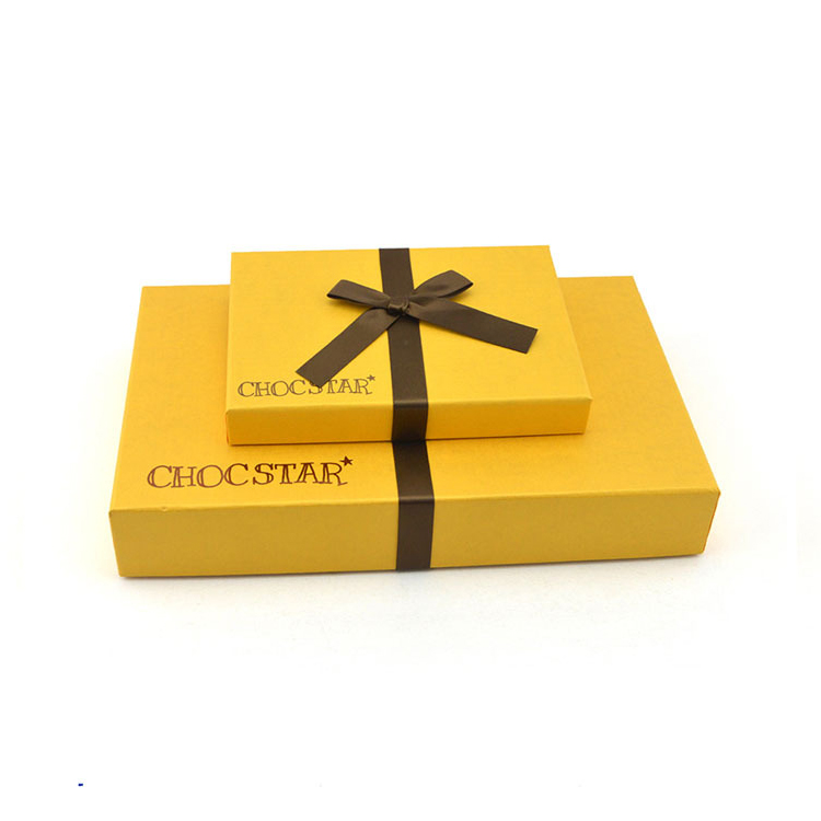 Shenzhen Manufacture Customized Handmade Rigid Paper Cardboard Gift Packaging Box For Chocolate