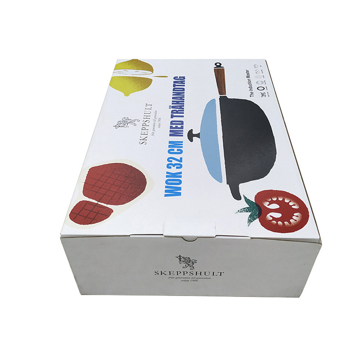 Custom Printing Foldable Corrugated Packaging Box For Skeppshult Kitchen Appliances With Matte Lamination
