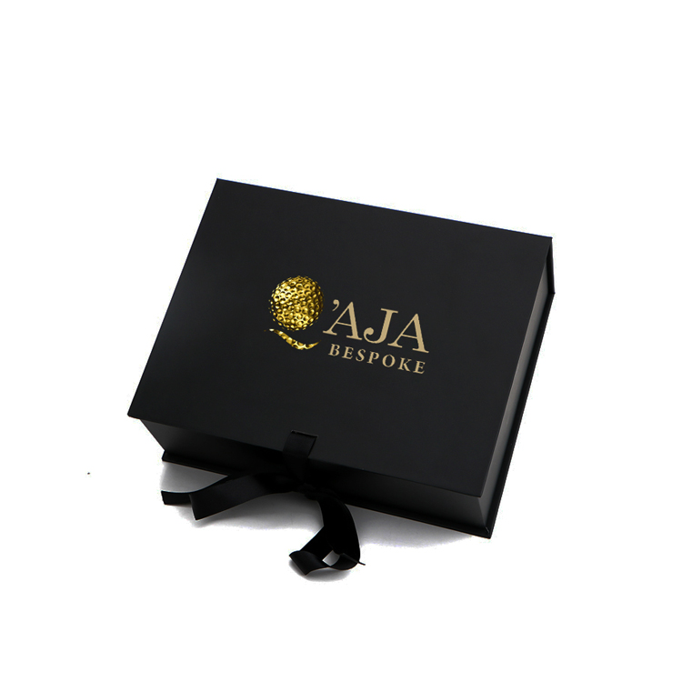 Custom Hair Extension Boxes Hair EXtension Packaging Box Bundle Hair Packaging with Gold Foiled Logo