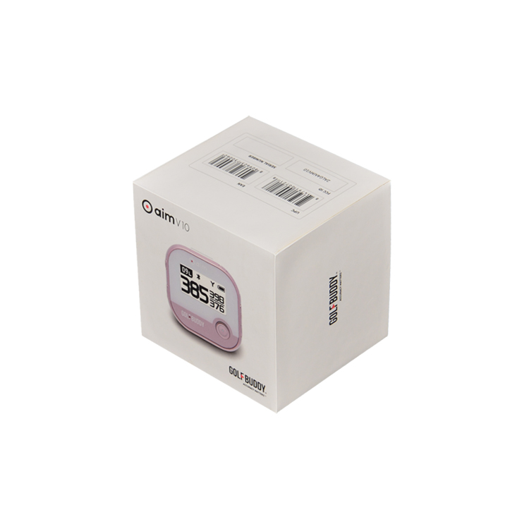 Matte White Lid and Base Gift Box Electronic Packaging for Rangefinders with Cardboard Holder