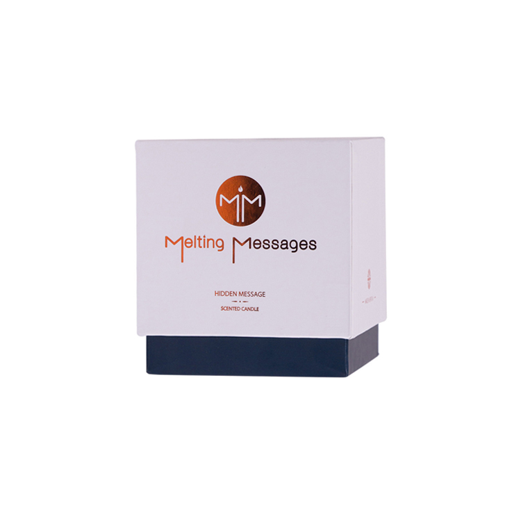 Custom Designed and Printed Luxury Candle Packaging Box Candle Gift Boxes Handmade Candle Packaging