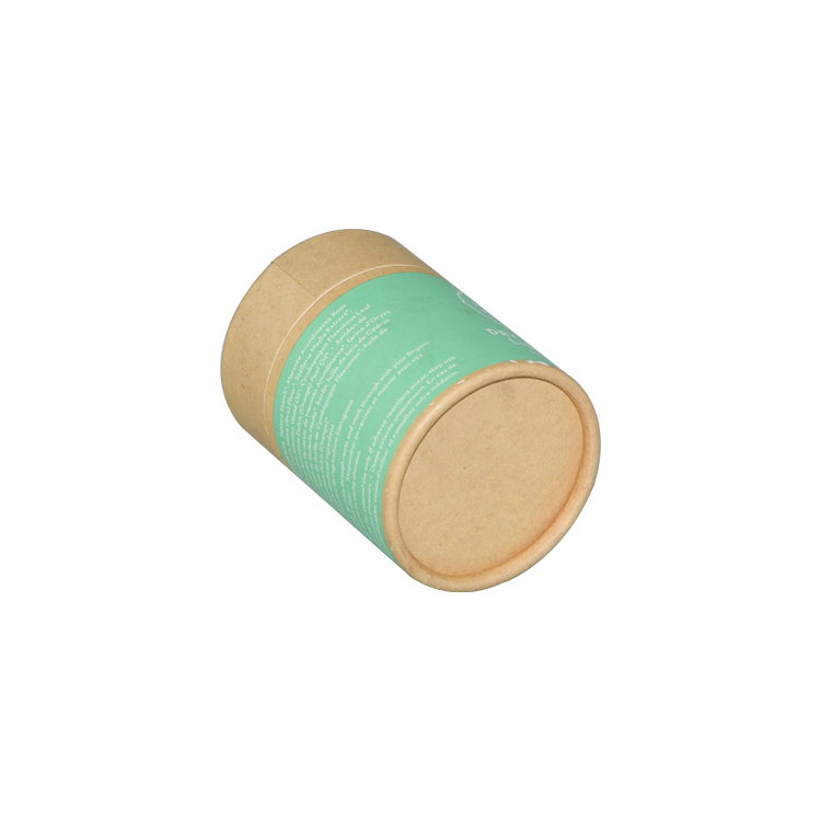 Best Price High Quality Kraft Paper Tube Box for Shampoo Packaging with Customized Printing